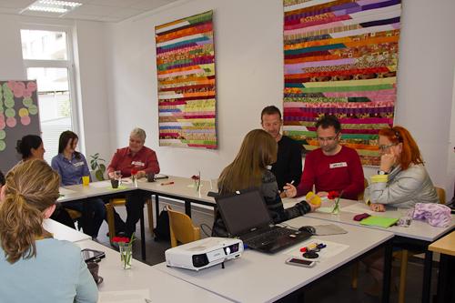 Seminarsituation Interkulturelles Training, Köln