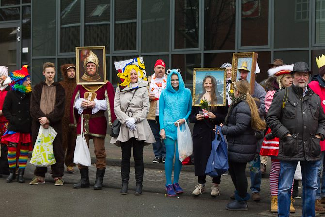 Karneval Flüchtlinge | Karneval | Köln Sprache und Sprachwandel