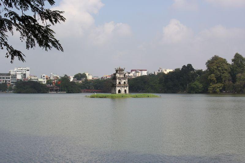 Pagode im ho-hoan-kiem-see, Hanoi