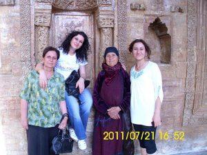 Jackleen im Irak mit Verwandten
