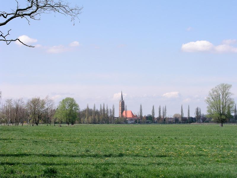 Heimat Jessen Bild Kirchturm