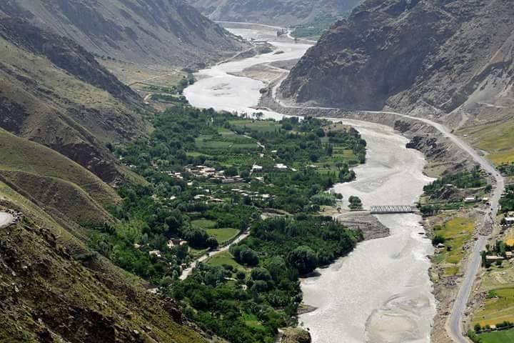 Heimat Afghanistan Flusslandschaft