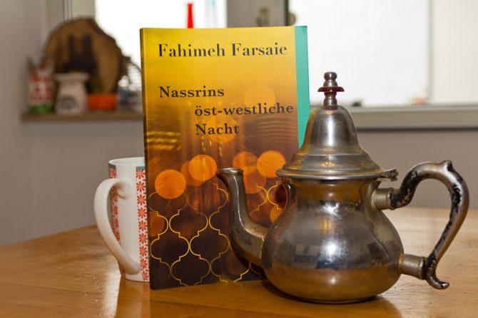 Buchtitel Nassrins öst-westliche Nacht von Fahime Farsaie