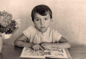 Zahide als Grundschülerin in Deutschland