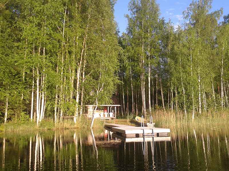 Finnische Landschaft erzeugt Heimatgefühle