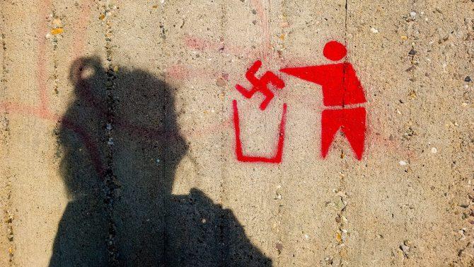 Anti-Nazi-Graffito