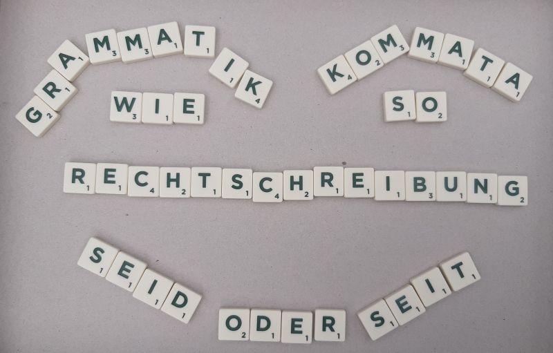Rechtschreibung - Selbsttest