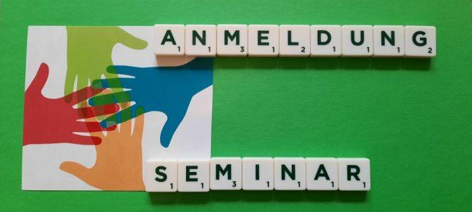 Anmeldung Seminare gesprächswert